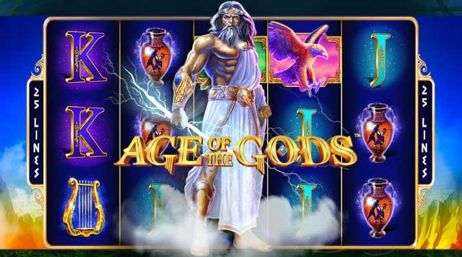 เกม สล็อตออนไลน์ AGE OF GODS RULER OF THE SKY จาก Playtech ที่คุณต้องติดใจ