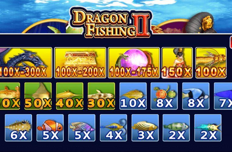 เกมยิงปลา ยิ่งเล่นยิ่งมันส์มีโอกาสลุ้นโบนัส X 300 ต้อง ราชามังกร 2